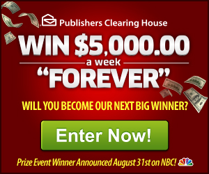 PCH - Win $5k a week Forever!
