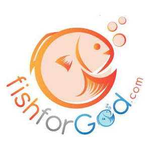 Free Sticker: Fish for God