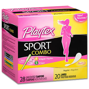 Free Playtex Sport Combo Sample