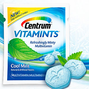 Free Sample of Centrum Vitamints