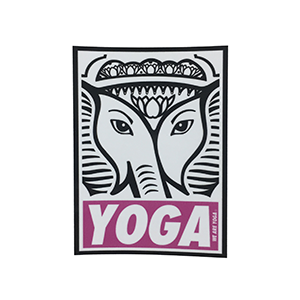 We Are Yoga - free sticker