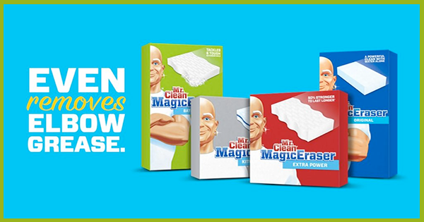Free samples of Mr Clean Magic Eraser for YOU