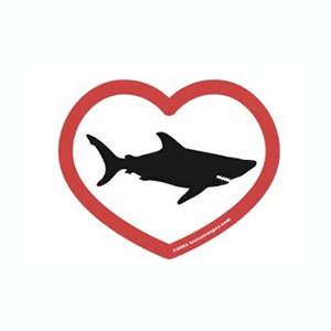 shark love sticker free